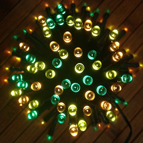 Mini String Lights Devida Solar String Decorations Lights No Outlet Needed Extra Long