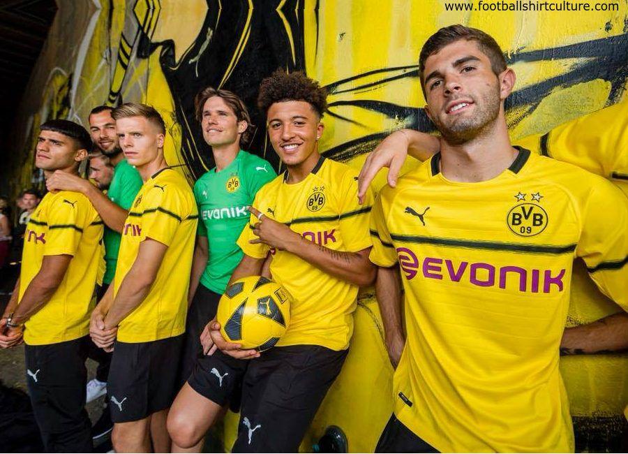 Football Soccer Futbol Bvb Bvbusa Borussiadortmund Borussia Dortmund 2018 19 Puma Tournament Kit Borussia Dortmund Dortmund Soccer Players