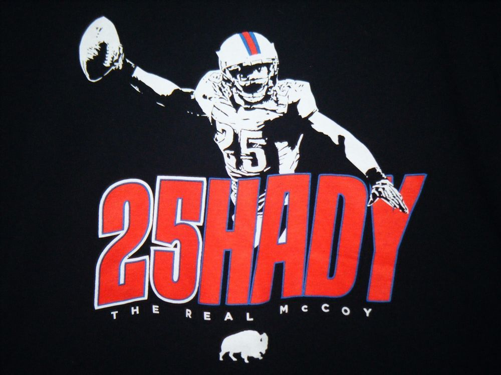 LeSean McCoy adult XL black t-shirt Shady The Real McCoy #Unbranded ...