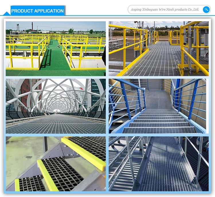Steel grating weight I type heavy duty hot dipped galvanized