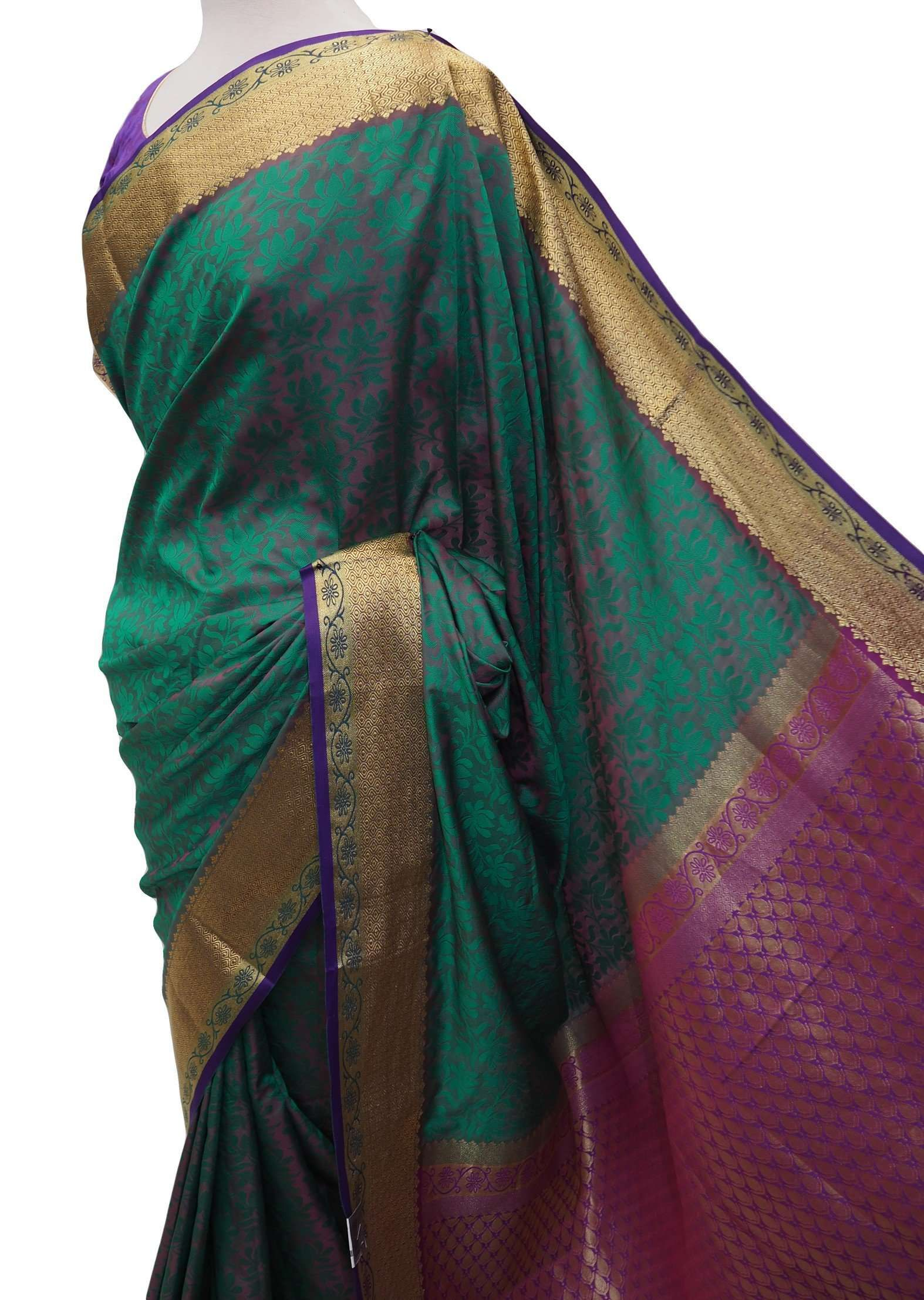 Find this amazing Handloom Banglori silky traditional saree with Ready Blouse - BollywoodParty - OF8214VT 0918 online or at our shop in Tooting, London. This Handloom Banglori silky traditional saree with Ready Blouse - BollywoodParty - OF8214VT 0918 is sure to win your heart. At only £65.00, this item is an absolute steal! Buy now at Prachy Creations!  Ideal for all occasions such as weddings and Bollywood parties. Banglori Handloom saree with rich border and with well stitched ready made blous