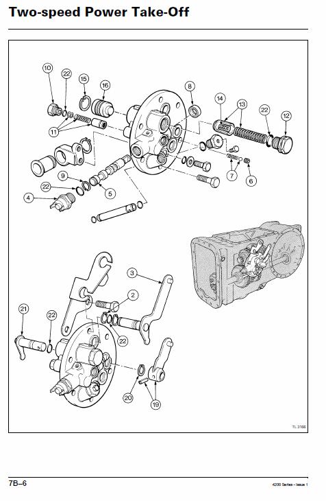 Massey Ferguson 4225 4235 4245 Tractor Service Manual Massey Ferguson Tractors Repair Manuals
