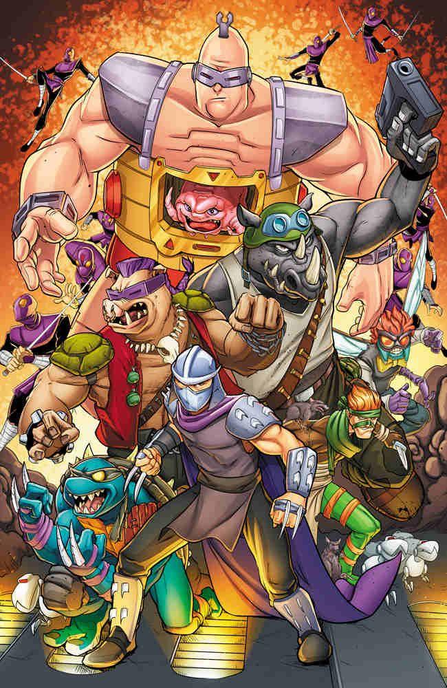teenage mutant ninja turtle villains by ross hughes movies tv