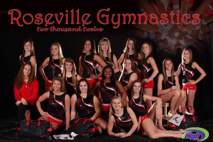 Team Photo 2011 2012 Roseville Area High School Gymnastics
