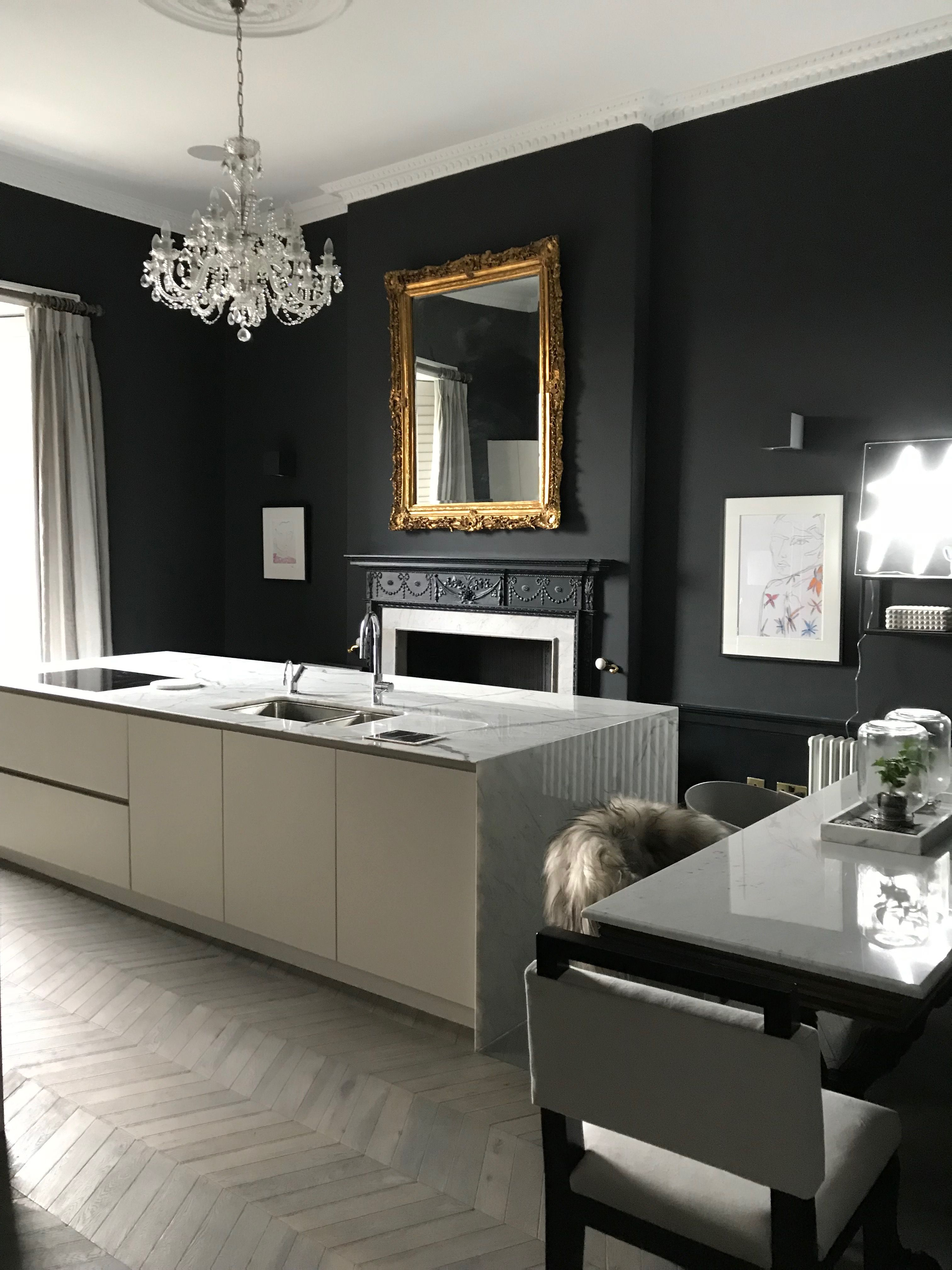 Best Off Black Farrow Ball Kitchen Makes The Marble Pop 400 x 300