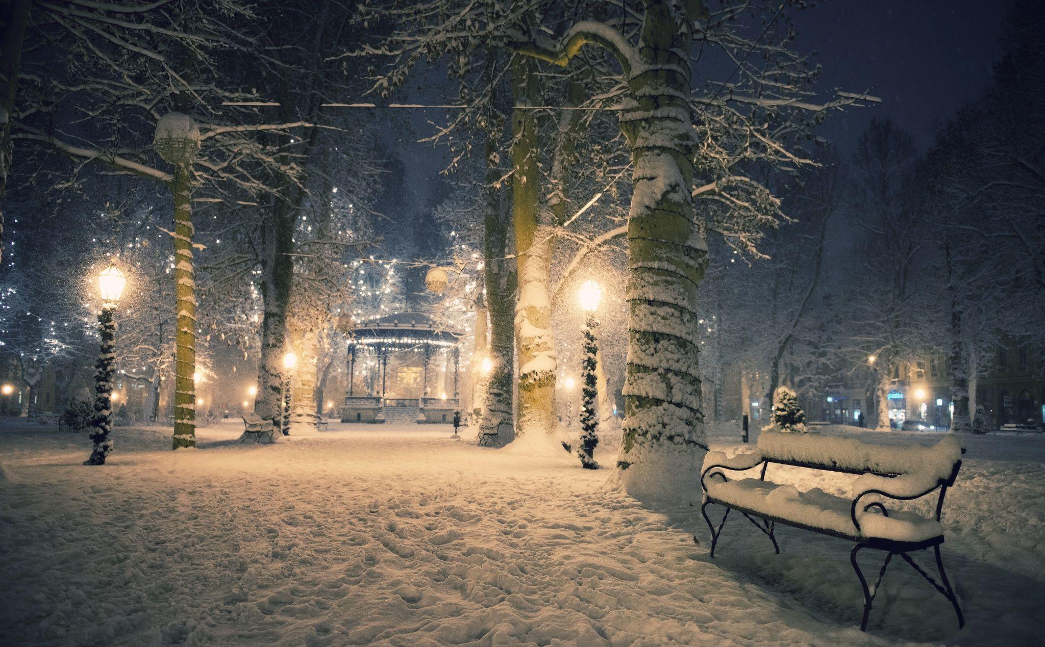 Winter Fairytale Of Zagreb