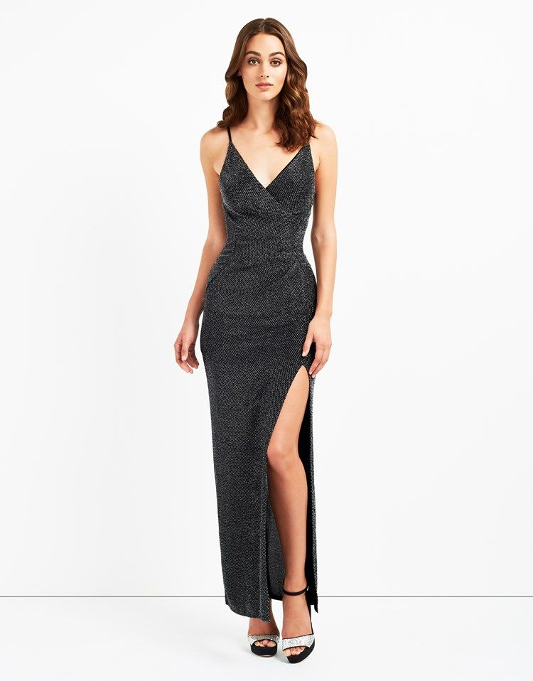Buy Lipsy Glitter Cami Maxi Dress from the Next UK online shop