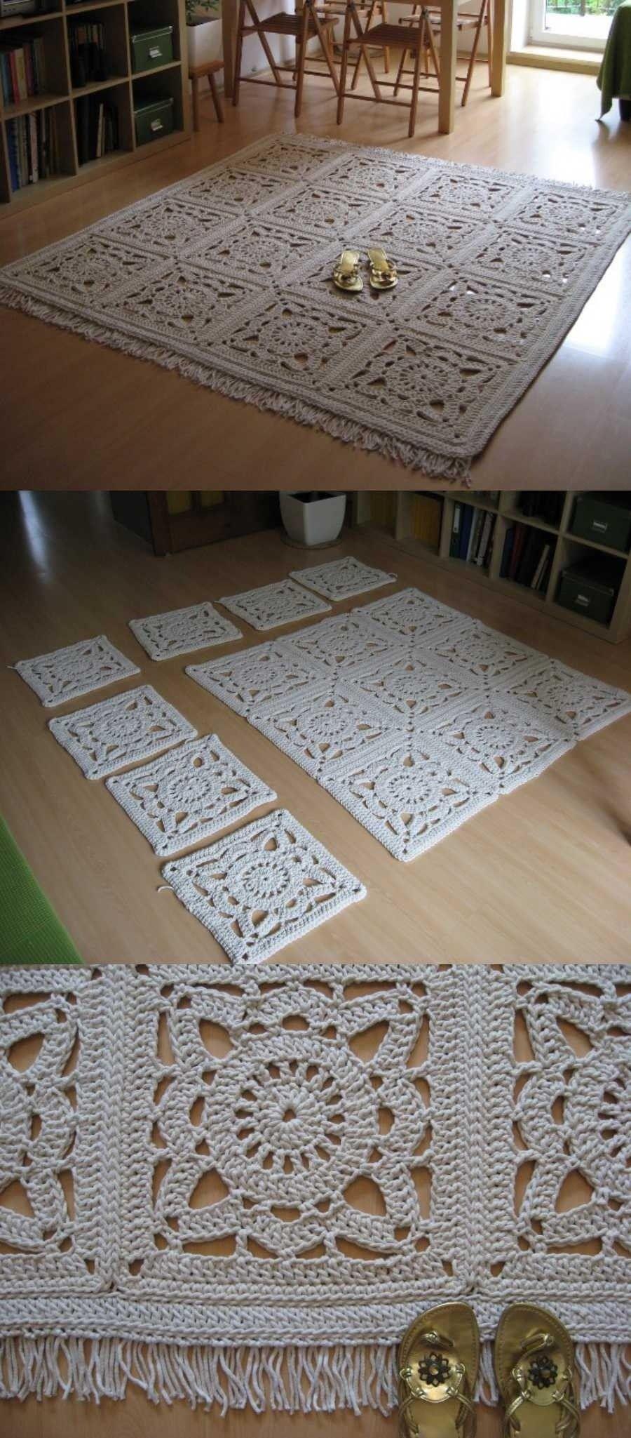 Diy 10 Tapetes De Croche Fora Do Banheiro Tapete De Croche