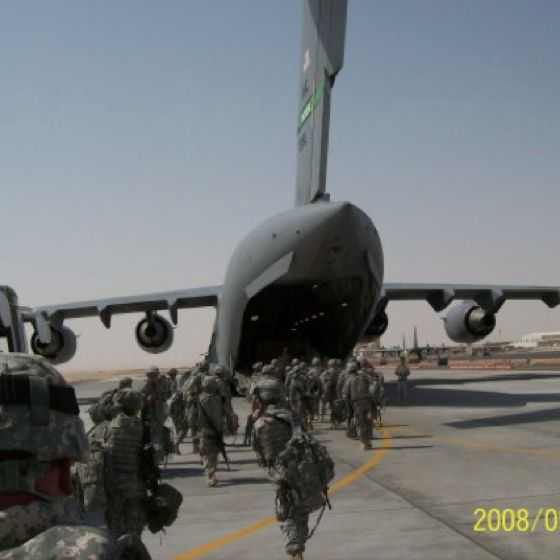 Boarding C 130 Heading To Iraq I Got To Fly In The C 130 A Lot When Traveling In And Out Of Iraq Military Life Iraq War Military Jets