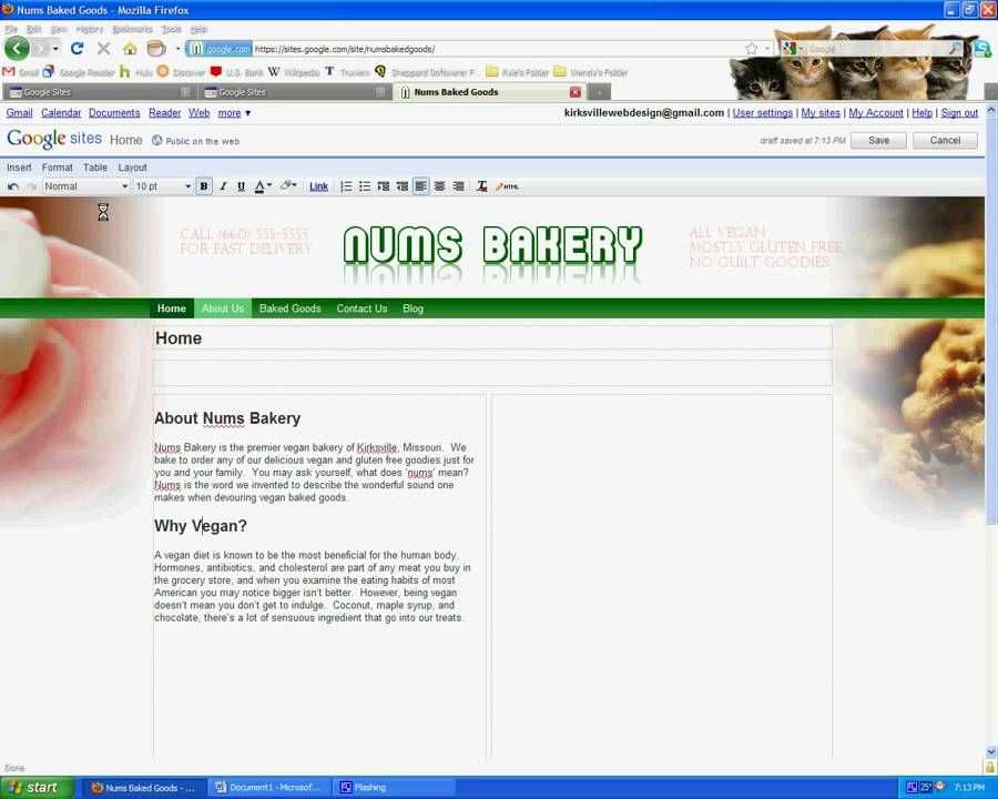 Google Sites Tutorials - Page Layout, Pictures, Animations IT