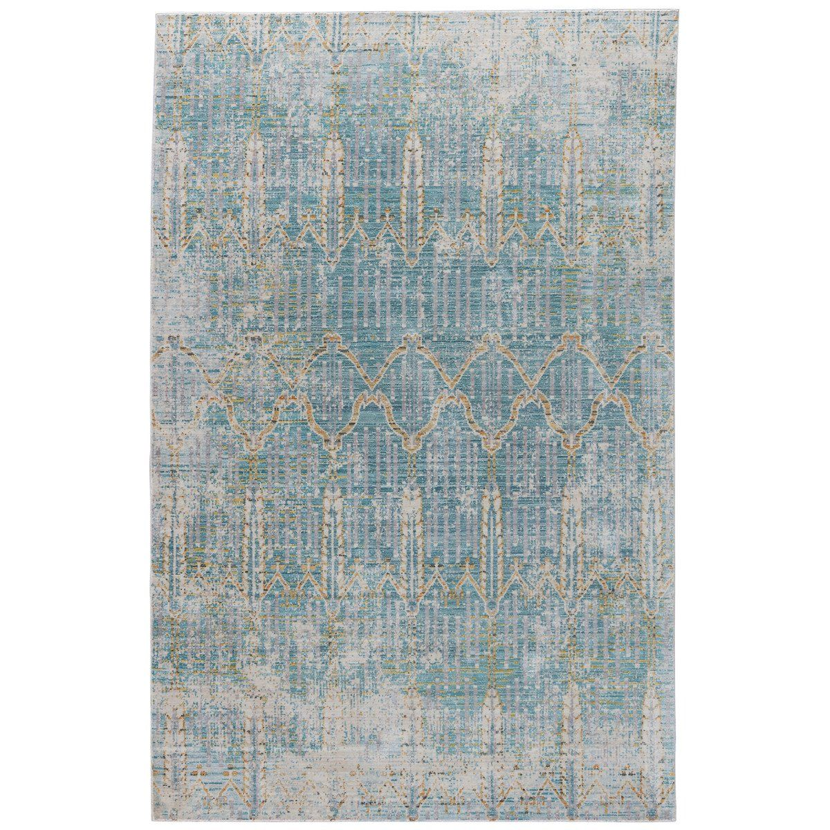 Jaipur Vintage Look Pattern Gray Blue Polypropylene Cer06 Rug With Images Area Rugs Aqua Rug Machine Made Rugs