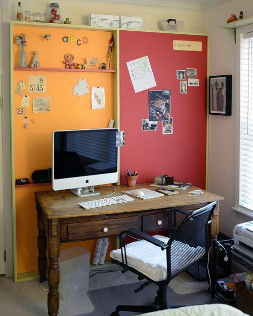 on a lark: lark's nest: mini office makeover