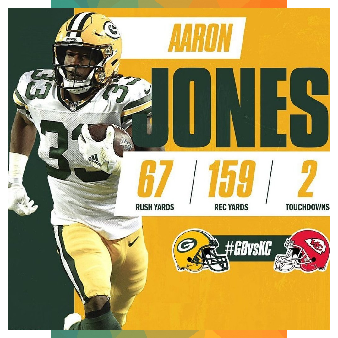 Green Bay Packers On Instagram Aaron Jones Put On A Show On Snf Gbvskc Gopackgo Br Aaron Bay Gbvskc Go In 2020 Green Bay Packers Green Bay Comic Book Cover