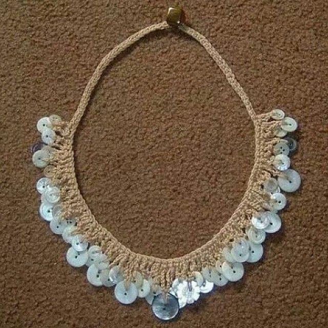 Pin von Sylvia Lopez auf Prendas a Crochet | Pinterest | Kette ...