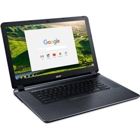 Acer Cb3 532 C47c 15 6 Chromebook Intel Celeron N3060 Dual Core Processor 2gb Ram 16gb Internal Storage Chrome Os Walmart Com Chromebook Acer 2gb Ram