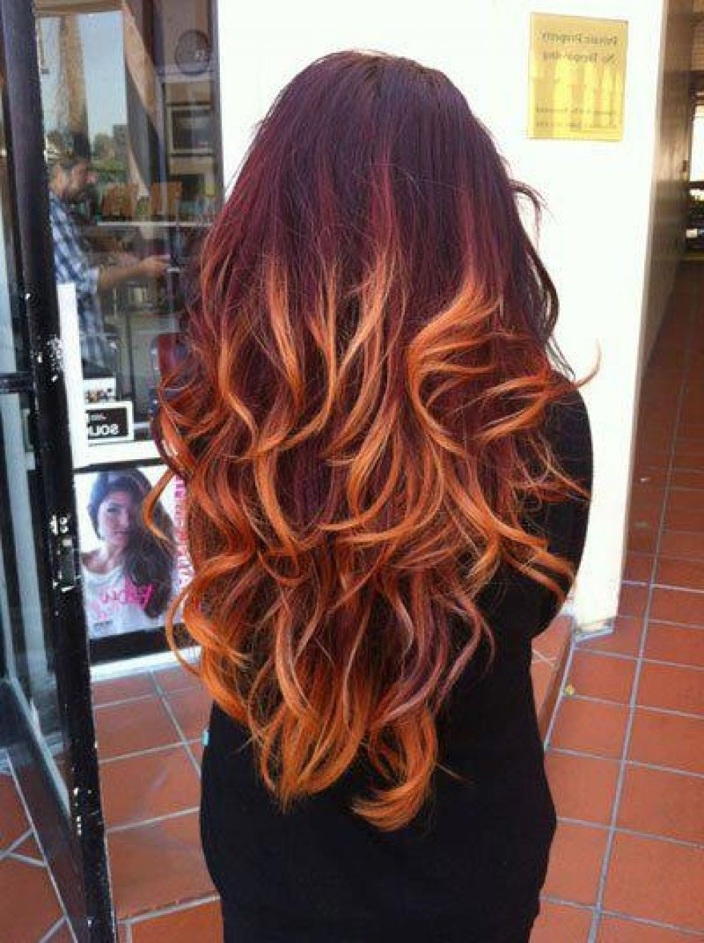 Red Ombre Hair Colors Ideas Hair Color Pinterest Red Ombre