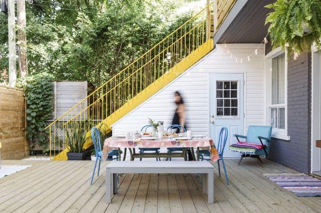 La métamorphose du0027une cour urbaine Extension maison Pinterest - faire extension maison pas chere
