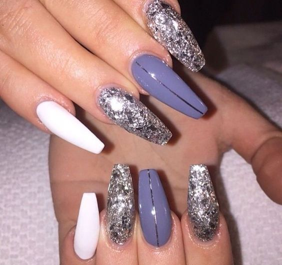 Are You Looking For Acrylic Coffin Nail Color Designs Fall And Winter See Our Collection Full Of Cute Design Ideas Get