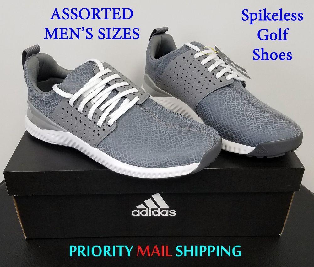 fd2d4cb5bf5 Just  75 !! adidas adicross bounce Mens SPIKELESS Golf Shoes NIB Grey    White Asst Szs  129R  adidas  Golf  GolfShoes  SpikelessGolfShoes   adicrossbounce