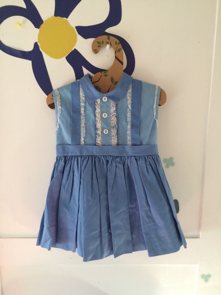 aa0a769bfc Vintage Baby Girls Dress