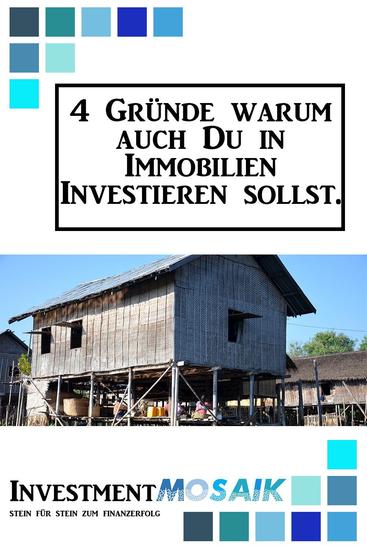 4 Gründe, warum ich in Immobilien investiere! Immobilien