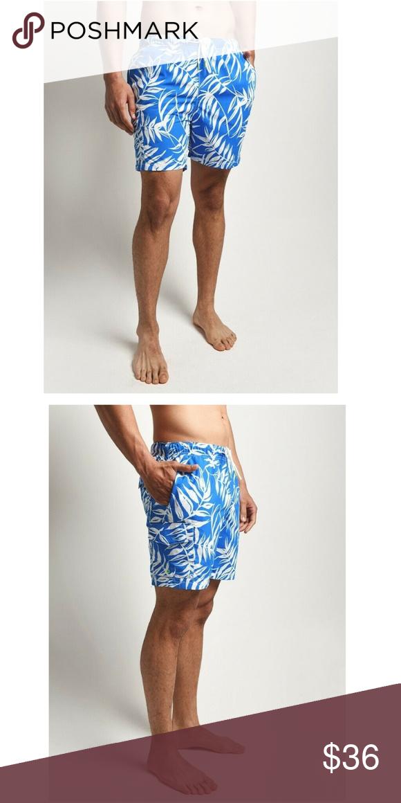 2293108d1a New XXL Tommy Bahama Swim Trunks Men's Tommy Bahama Swim Trunks Naples Muy  Caliente Blue Spark 100% nylon XXL; waist 40