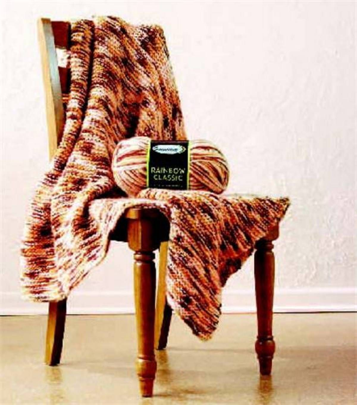 Knit Blanket Pattern Size 13 Needles : Easy-to-Knit Afghan:Knitting needles, size 13   Sensations ...