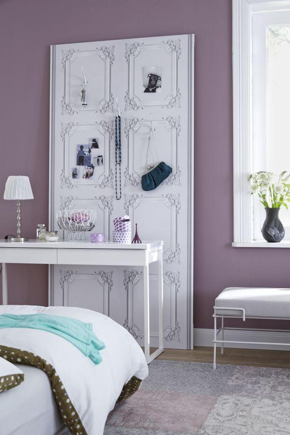 Meine Traumstation u2013 Ideen fürs Schlafzimmer Interiors - tapeten fürs schlafzimmer