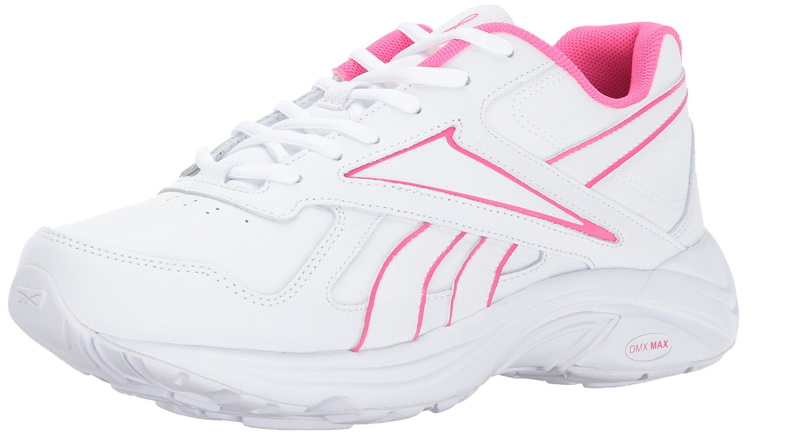 42e58d4705f766 Reebok Womens Walk Ultra V Dmx Max Track Shoe PrWhite Solar Pink 9 M US      Visit the image link more details. (It is Amazon affiliate link)   ...