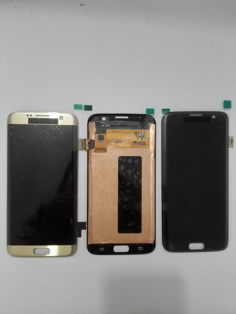 100 Tested For Samsung Galaxy S7 Edge G935 G935f G935a G935fd G935p Lcd Display Touch Screen Digitizer Blue White Gold ホワイトゴールド ブルー ディスプレイ