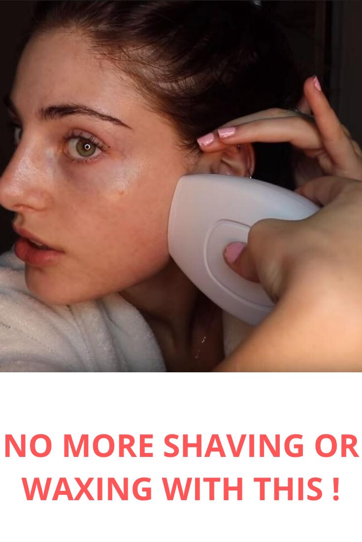 Say Goodbye To Shaving Or Waxing Ipl Laser Hair Removal Hair Removal Hair Removal Diy