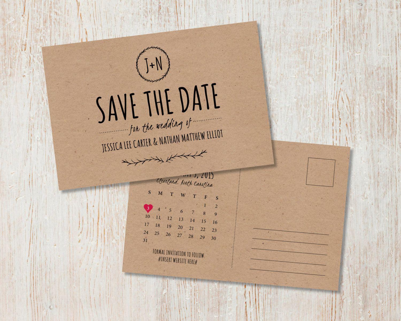 sending wedding invitations months before%0A Calendar Save the date cards  Best Selling Item  heart date save the date  card  save the date  engagement card  PRINTABLE   digital file   Wedding   Weddings