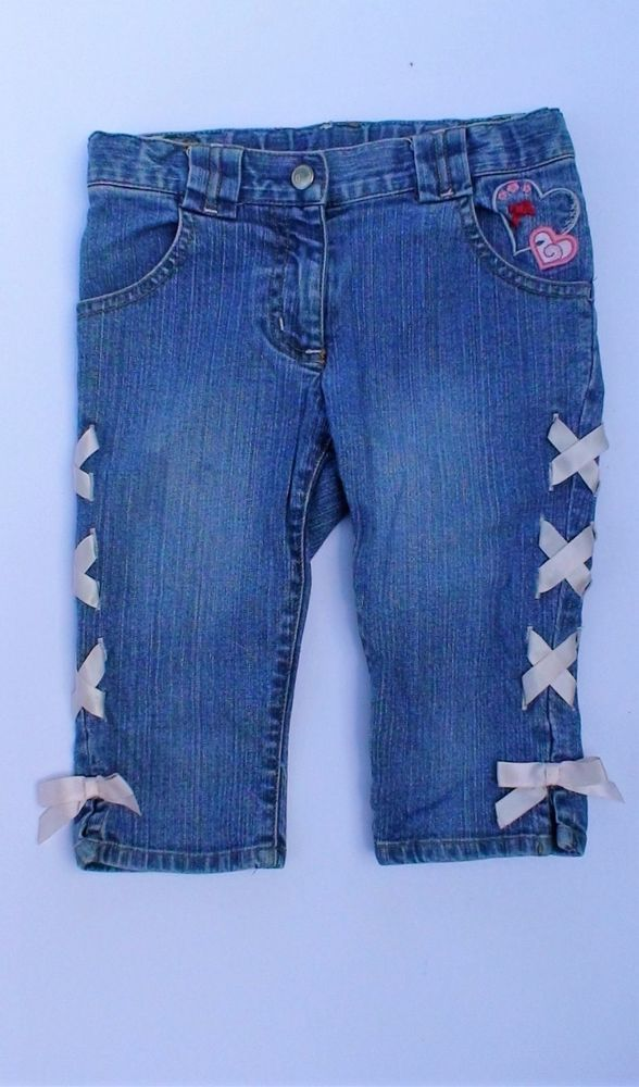 GYMBOREE Lace Up Sides Jeans Girls Size 5 #Gymboree #Jeans #Everyday