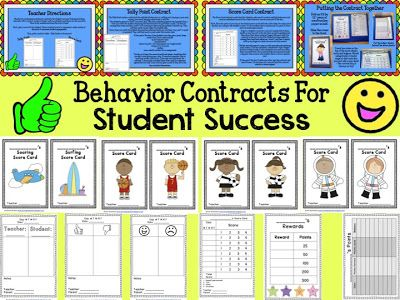 Behavior Contracts For Student Success  Classroom Management