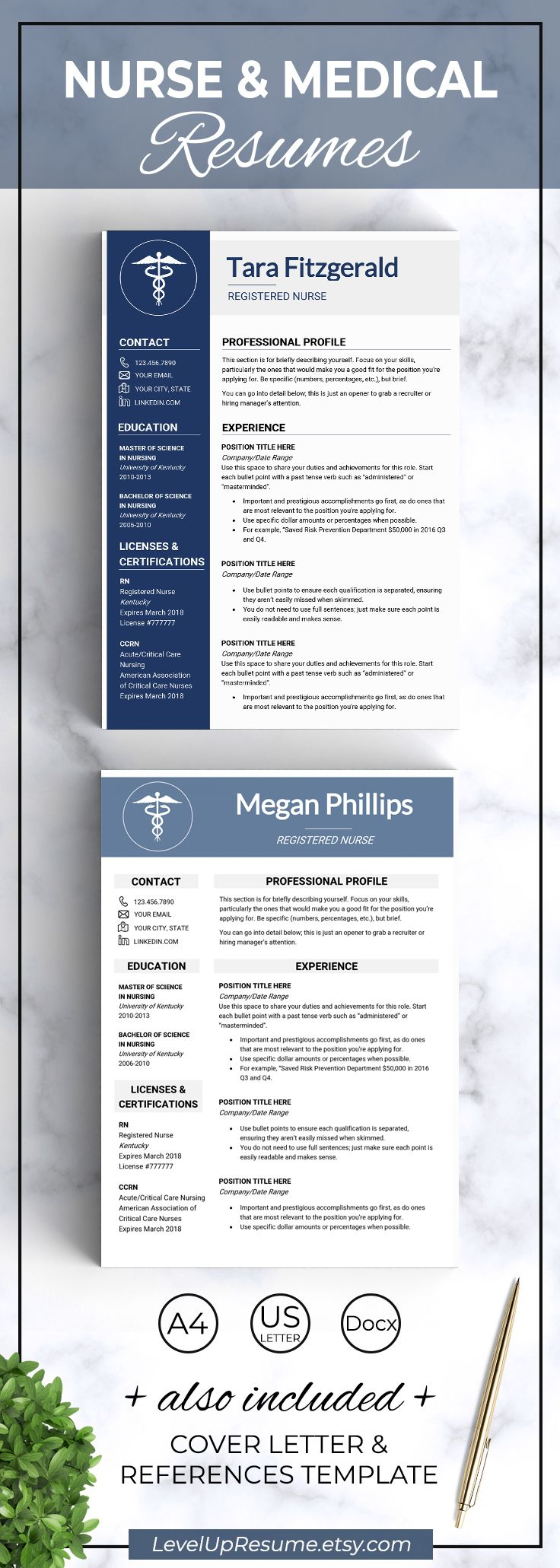 Medical Resume Template Cv Template Medical Cv Doctor Cv Doctor