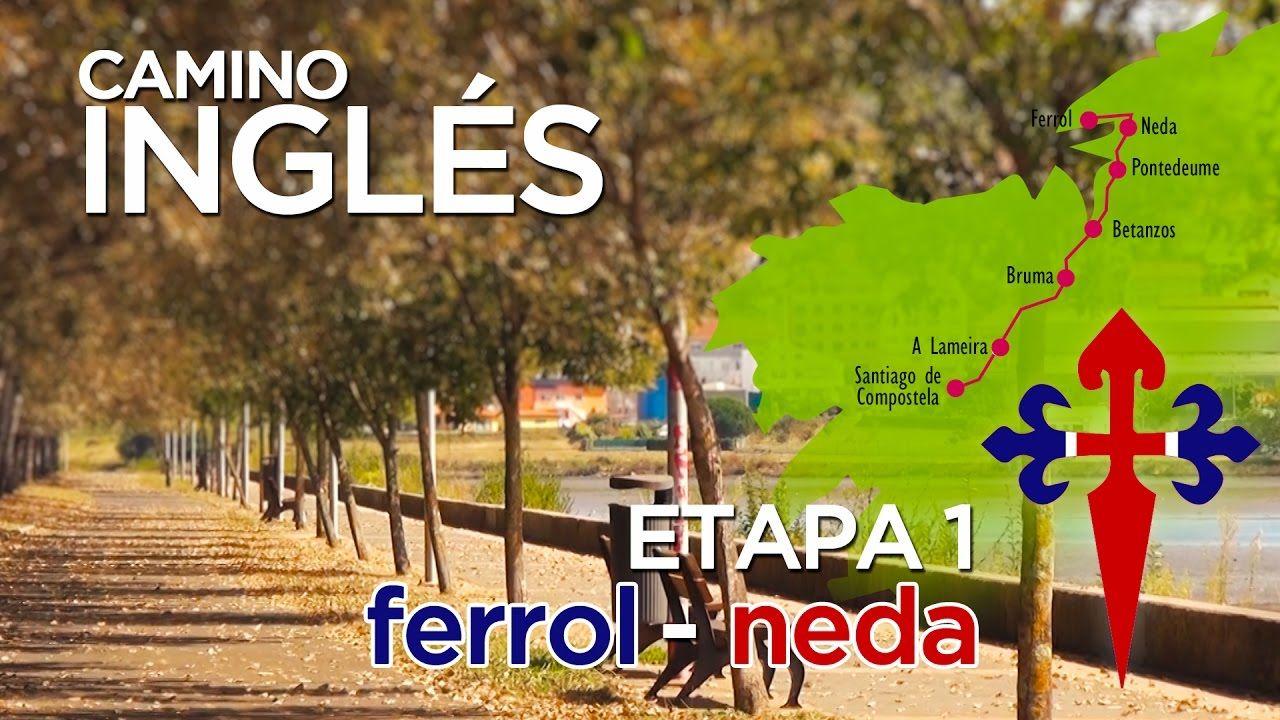 TAPA 1 #Ferrol - #Neda (15 kms)  #CaminodeSantiago #CamiñoInglés #CaminoIngles #TheWay #TheCamino #EnglishWay #EnglishRoute #StJamesWay #WayofSaintJames #pilgrim #pilgrimage #peregrino