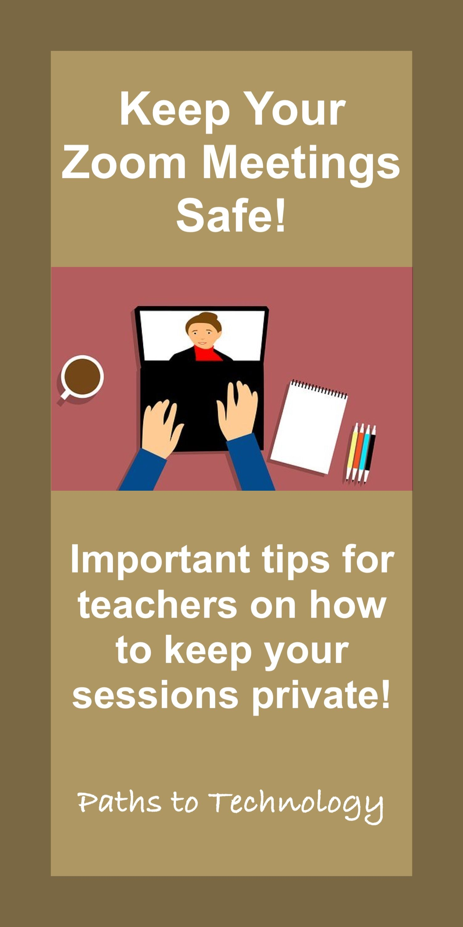 How To Keep Your Zoom Meetings Safe In 2020 Life Skills Special Education Special Education Teacher Preschool Special Education