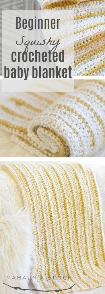 Soft Beginner Crochet Blanket Pattern | Pinterest