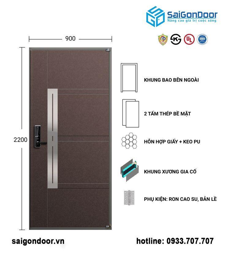 Korean Steel Door