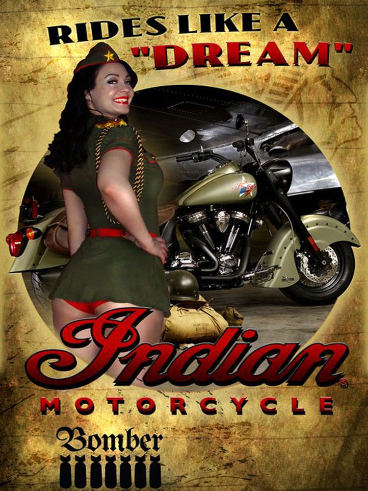 Ad - Indian Scout Bobber MY19 New Unregistered - only £