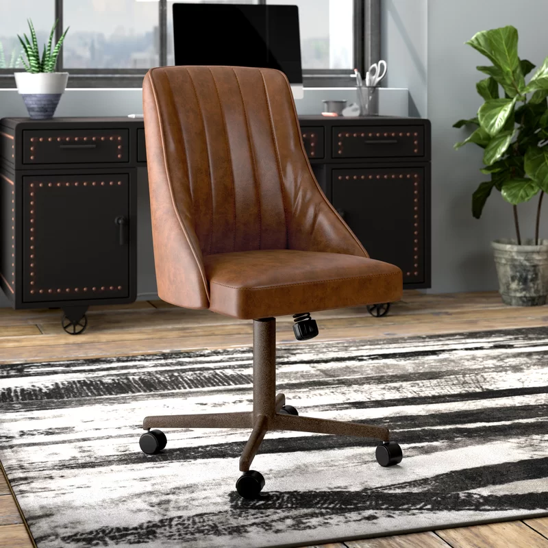 Osaze Task Chair Adjustable Office Chair Shabby Chic Table And