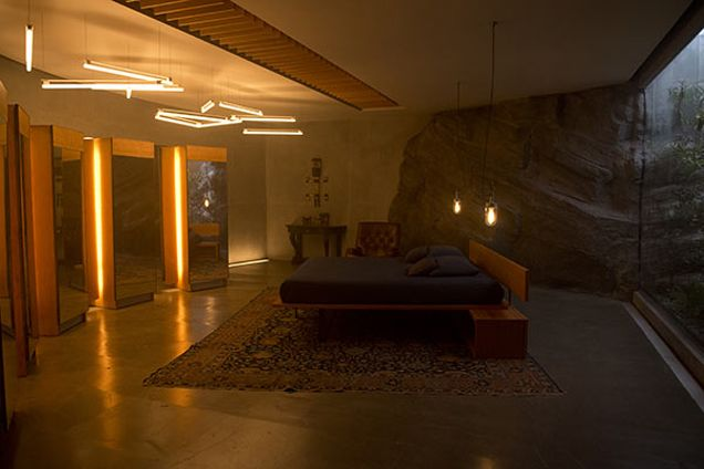 Design Secrets Of Ex Machina This Year S Boldest Science Fiction Movie Ex Machina House Cinema Architecture Design