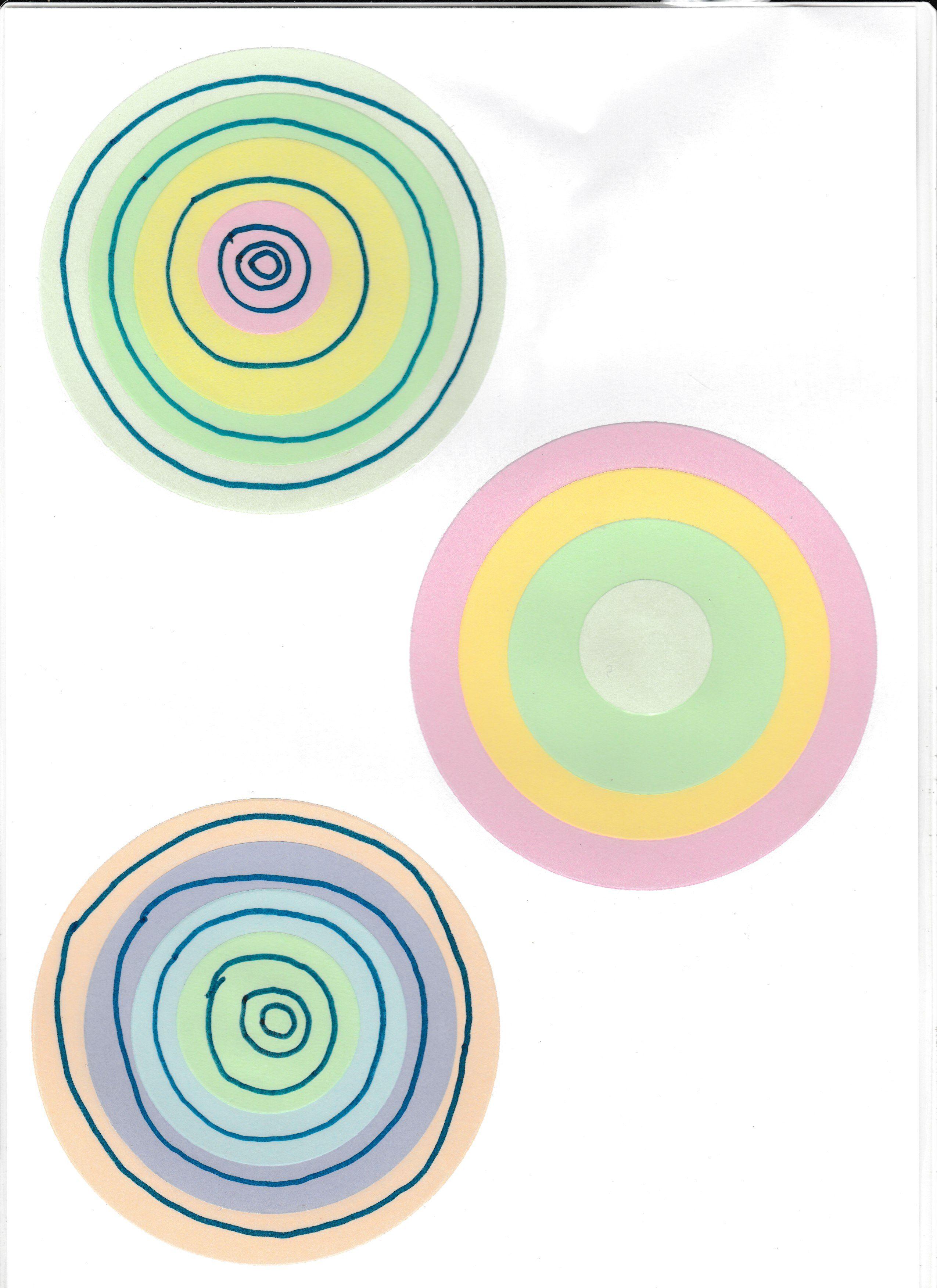 Formes et Grandeurs Disques  Graphisme Ronds