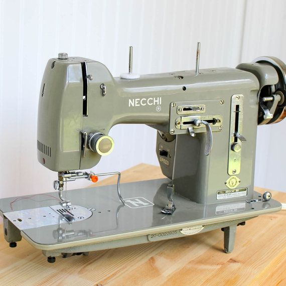 Vintage Necchi BU Mira Sewing Machine Heavy Duty Pfaff Grand Delectable Necchi Bf Mira Sewing Machine