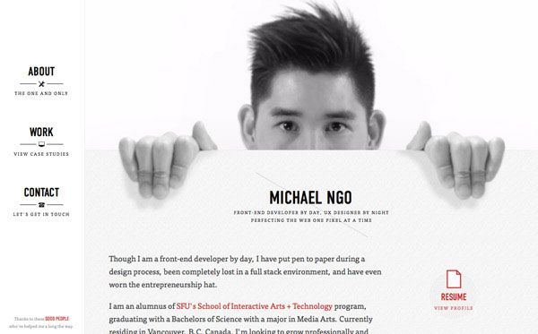 Tips On Using White Backgrounds In Website Design Portfolio Web Design Web Design Tips Web Design
