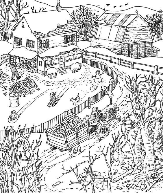 printable hidden pictures coloring pages - photo#48