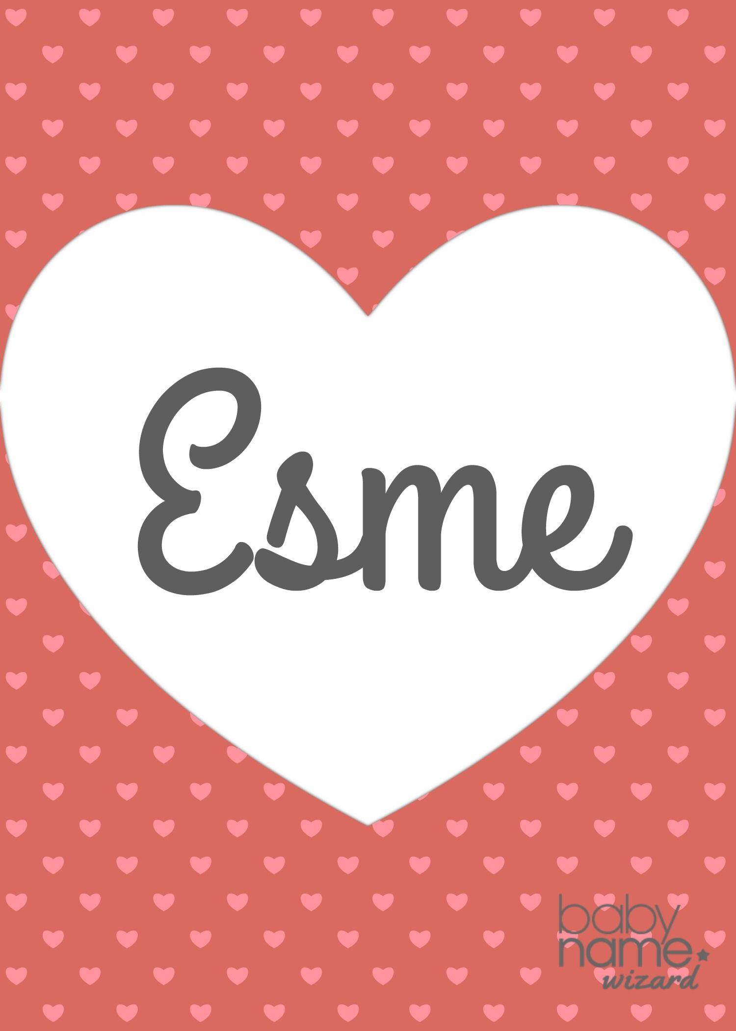 Esme Name Meaning & Origin Baby girl names, Baby names