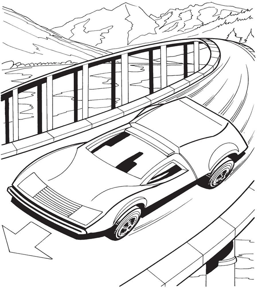 Coloring pages zamboni