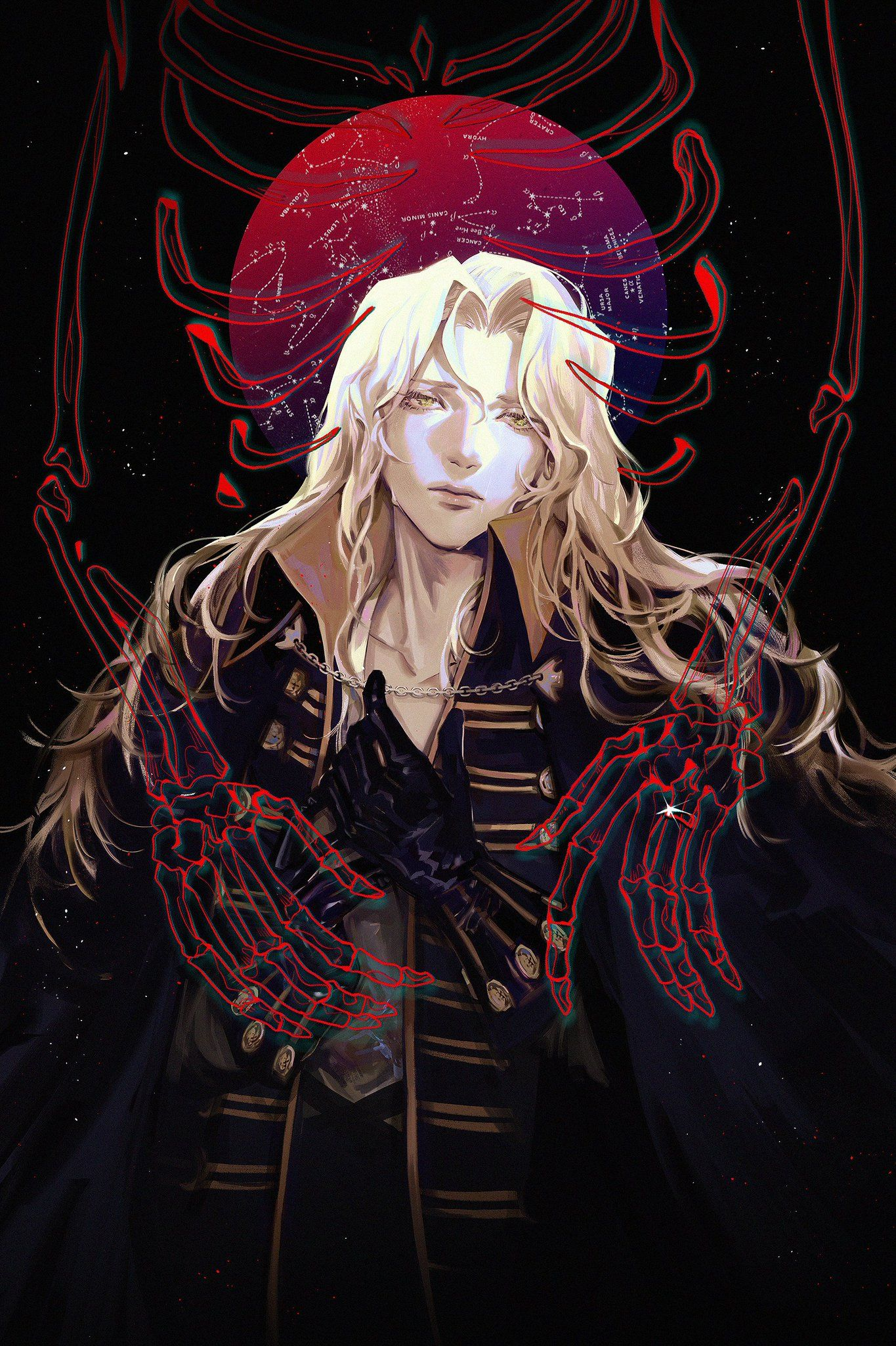 lina 🍋 on Alucard castlevania, Alucard, Fantasy art men