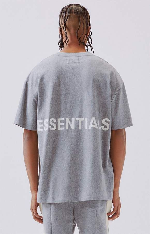 fa1c5334 FOG - Fear Of God Essentials Boxy Graphic T-Shirt | Products in 2019 ...